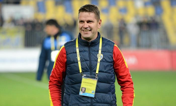Flavius Stoican, antrenorul de la Viitorul Pandurii Târgu Jiu / Foto: Sport Pictures