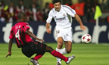 Fussball: CL 04/05, Bayer 04 Leverkusen-Real Madrid