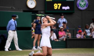 Simona Halep, campioana de la Wimbledon 2019 / Foto: Getty Images