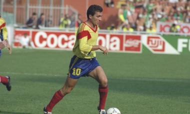 Gheorghe Hagi of Romania