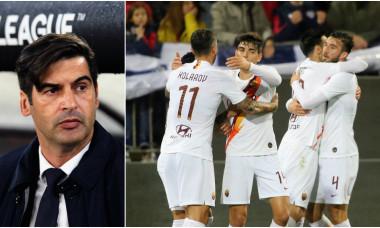 Paulo Fonseca este antrenorul celor de la AS Roma