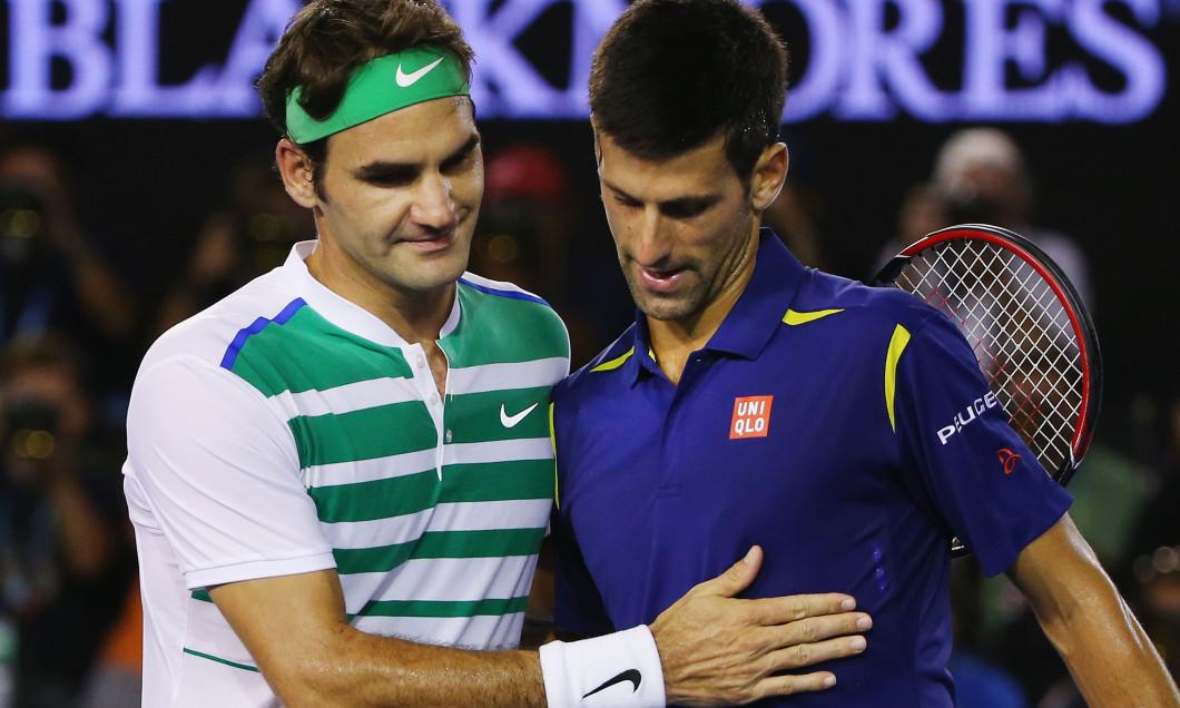 Roger Federer și Novak Djokovic / Foto: Getty Images