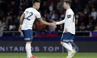 Lionel Messi și Lautaro Martinez sunt coechipieri la naționala Argentinei / Foto: Getty Images