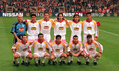 Galatasaray team line-up