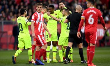 Girona FC v FC Barcelona - La Liga