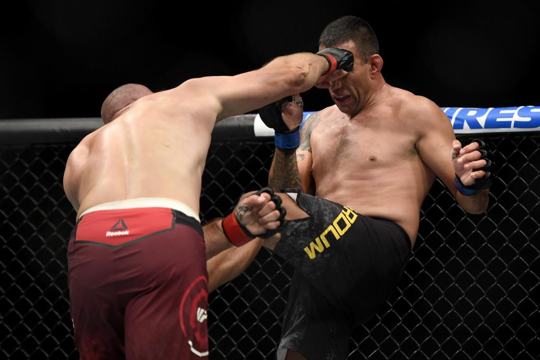 UFC 249 Oleinik v Werdum