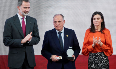 Spanish Royals Deliver Accreditations On The 8th Promotion Of Honorary Ambassadors For 'Spain' Brand
