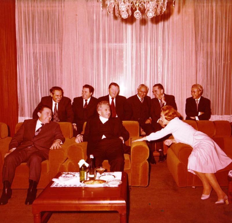 Ziua de naștere a lui Nicolae Ceaușescu, 26 ianuarie 1980, K031 | fototeca online a comunismului romanesc