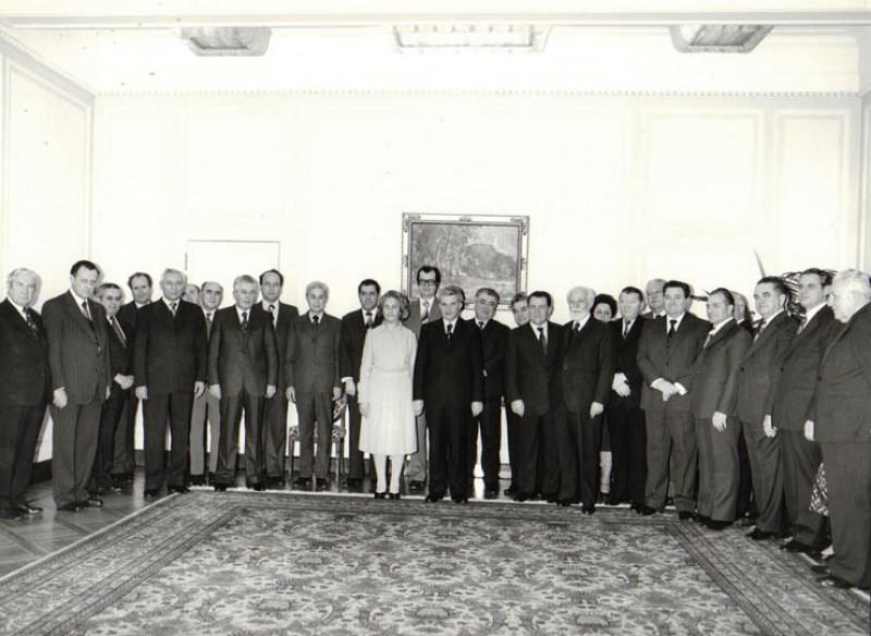 Ziua de naștere a lui Nicolae Ceaușescu, 26 ianuarie 1980, K008 | fototeca online a comunismului romanesc