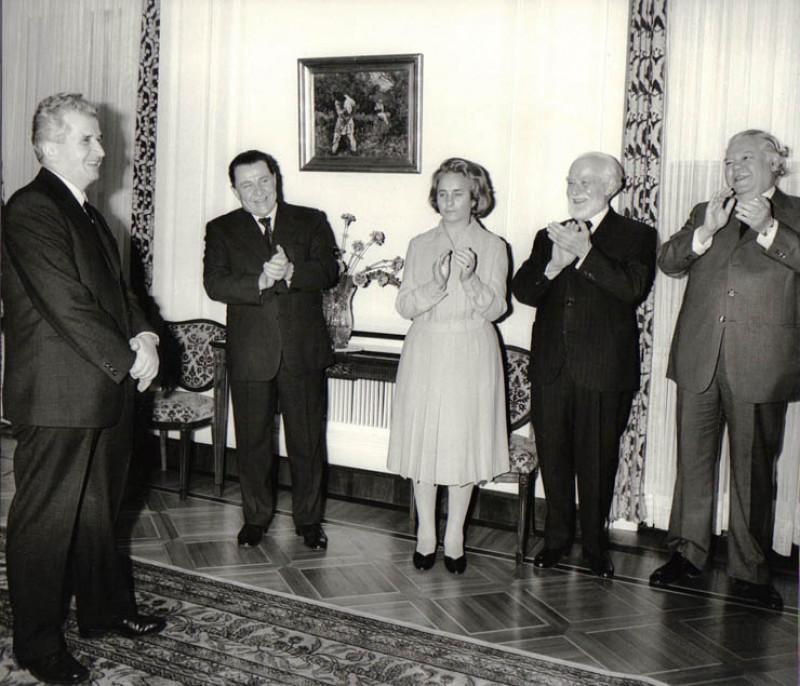 Ziua de naștere a lui Nicolae Ceaușescu, 26 ianuarie 1980, K005 | fototeca online a comunismului romanesc