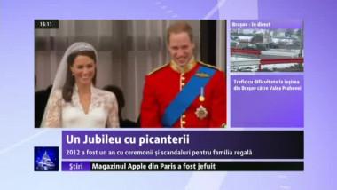 Familia regală britanică, în centrul atenției și în 2012