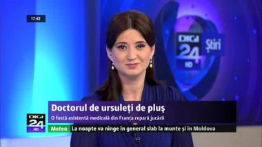 """O fostă asistentă medicală din Franţa """"operează"""" ursuleți de pluș"""