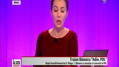 Crin Antonescu: Eu cred că, prin votul de la Convenție, PDL s-a despărțit de Traian Băsescu