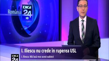Ion Iliescu nu crede în ruperea USL