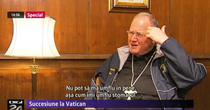 Dintre cardinalii americani, Timothy Dolan este cel mai popular