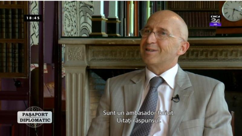 Paşaport diplomatic. Invitat - Philippe Gustin, ambasadorul Franţei la Bucureşti | Digi24