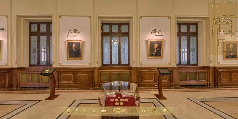 TUR VIRTUAL. Cum arată clădirea Băncii Naționale a României | DIGI24