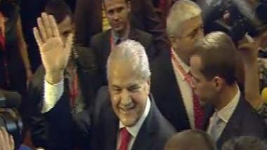Adrian Năstase, la Congresul PSD: După o încercare foarte dură, m-am schimbat în bine