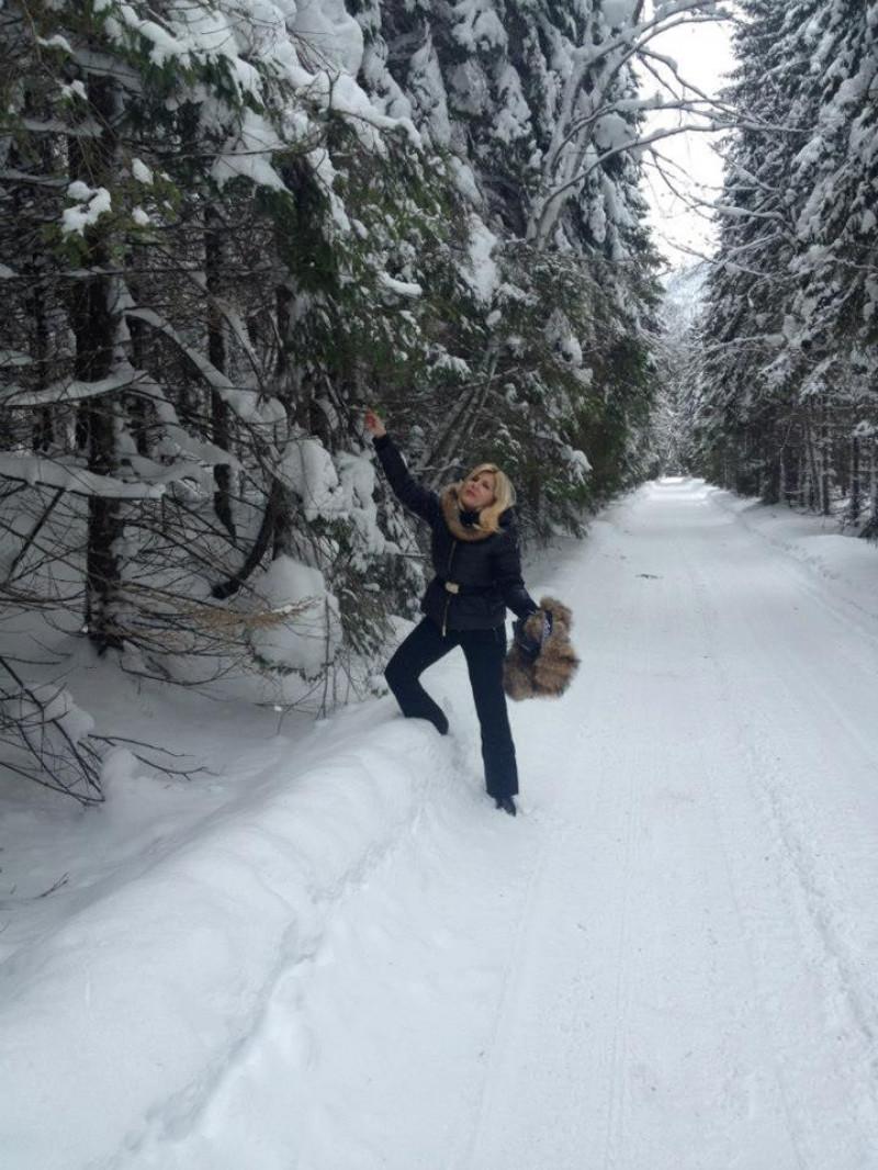 Elena Udrea preferă munții României |FOTO: Facebook