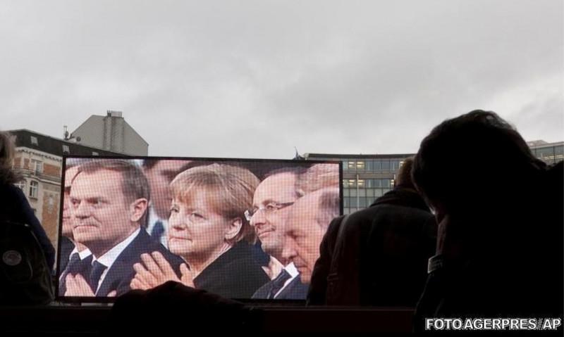 Traian Băsescu, la ceremonia de decernare a premiilor Nobel, transmisa in piata din Oslo | facebook.com