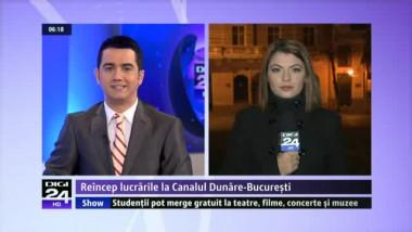 Construcţia Canalului Dunăre-Bucureşti, idee veche a lui Ceauşescu, ar putea fi reluată