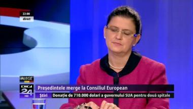 Anca Boagiu spune că premierul a compromis negocierile președintelui la Bruxelles