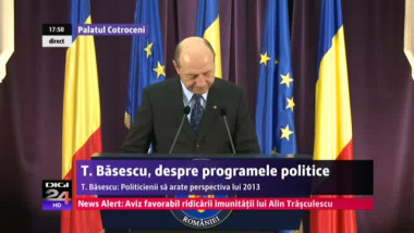 """Traian Băsescu: """"Trebuie să reîncepem exploatarea minieră de suprafață – aur, cupru"""""""