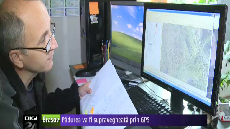 PADUREA SUPRAVEGHEATA PRIN GPS