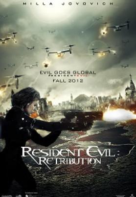 resident evil retribution poster redone by oscarm16-d4ob2hu