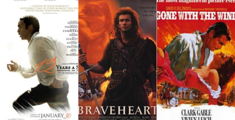 Cele mai spectaculoase filme istorice  Productiile care au