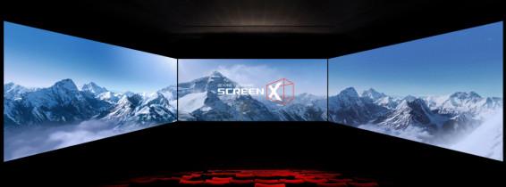 Cineworld ScreenX