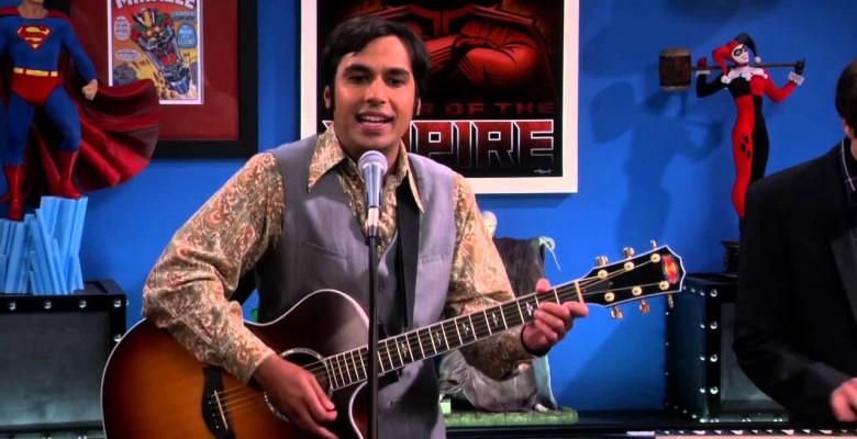 The Big Bang Theory Kunal Nayyar