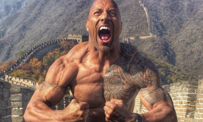 dwayne the rock johnson tinerete