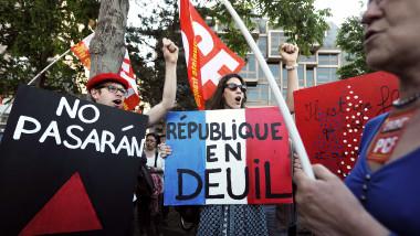franta-demonstratii -5759922-AFP Mediafax Foto-FREDERICK FLORIN