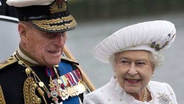 printul philip cu regina