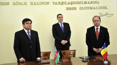 ponta aurescu in azerb - gov.ro