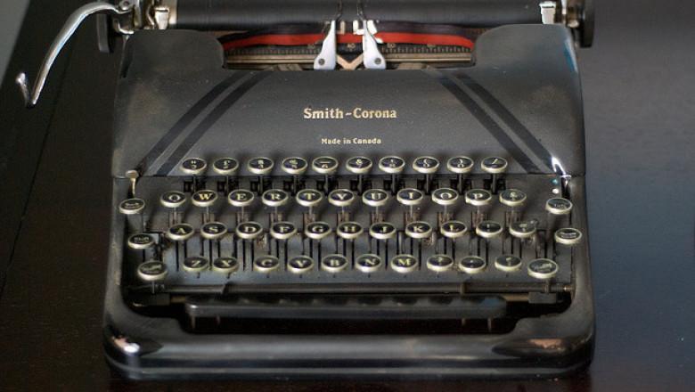 masina scris flickr