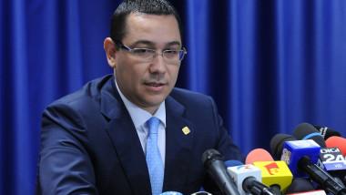 V. Ponta: Poate mâine avem ministru la Transporturi. Pretextul amânării era CFR Marfă