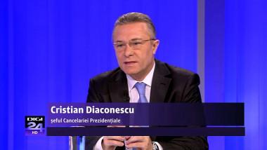 """Cristian Diaconescu despre Victor Ponta: """"Să îl insulţi pe şeful statului dintr-un studio de televiziune aflat în alt stat e o atitudine... Ai ceva de spus? Spune aici, fii bărbat!"""""""