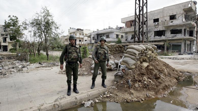soldati siria afp