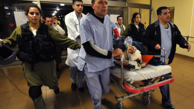 accident israel - 3287067-AFP Mediafax Foto-David Buimovitch