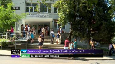Coperta - Concurenta record la Scoala Postliceala Sanitara