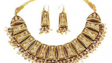 Pradeep lac necklace gold 110