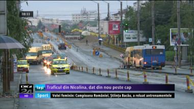 Coperta - Traficul din Nicolina dat peste cap