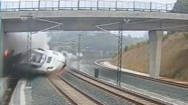 spania accident feroviar tren