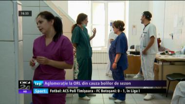 coperta - Aglometatie la ORL din cauza bolilor de sezon