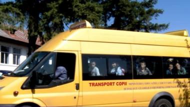 transport copii