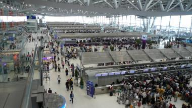 Terminal de l a roport international de Bangkok