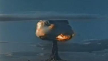 explozie bomba nucleara