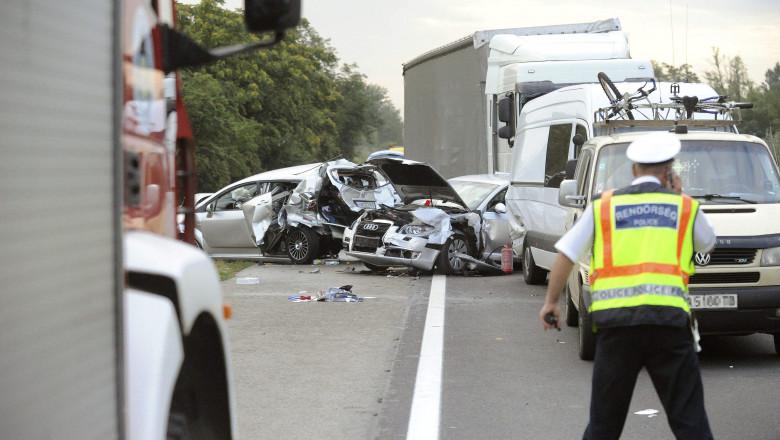 accident ungaria - 5987832-Mediafax Foto-Mih d k Zolt n